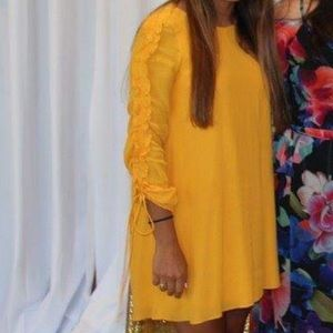 Golden Yellow Zara Dress